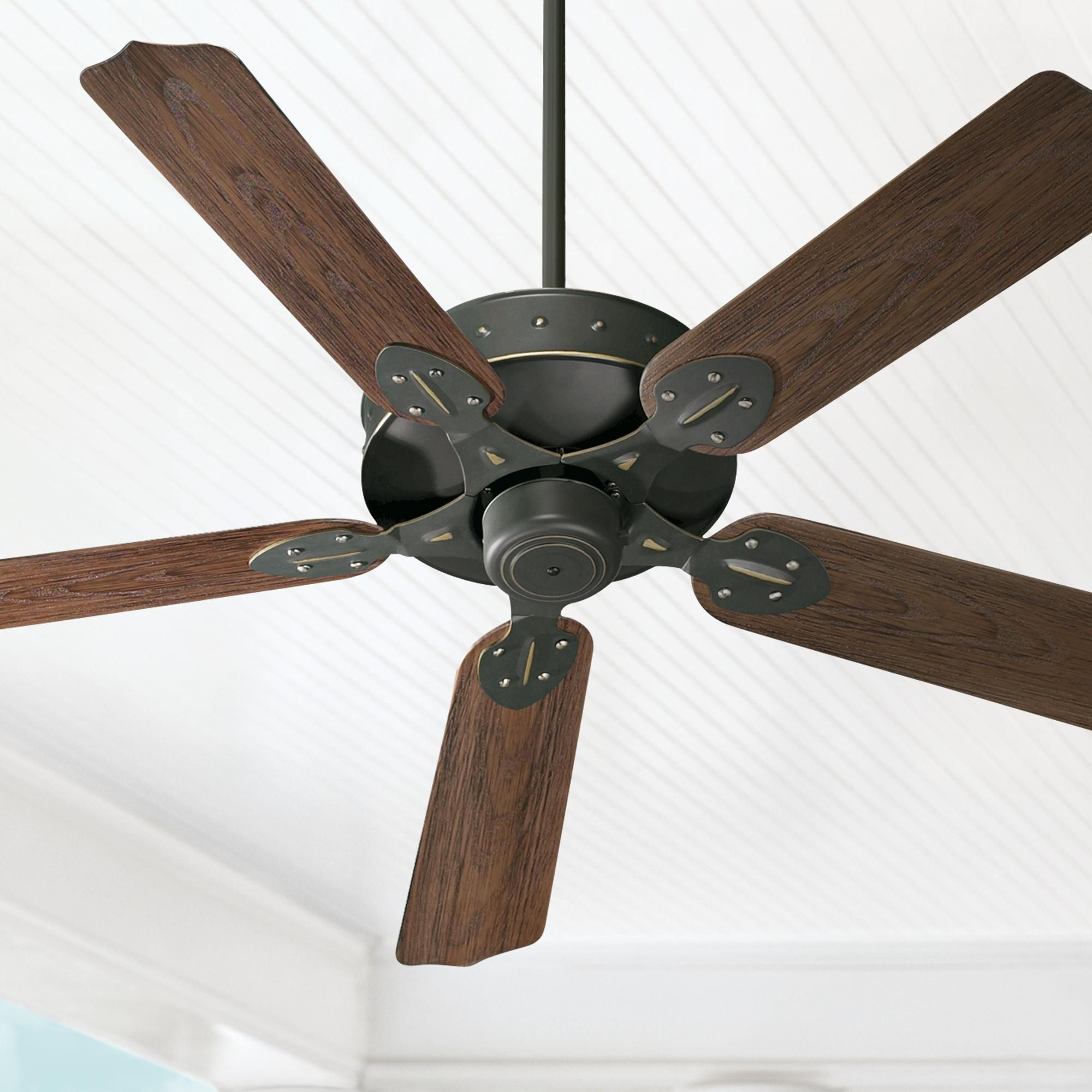 52 Inch Quorum Hudson Old World Patio Ceiling Fan In 2020 Rustic Ceiling Fan Ceiling Fan Outdoor Ceiling Fans