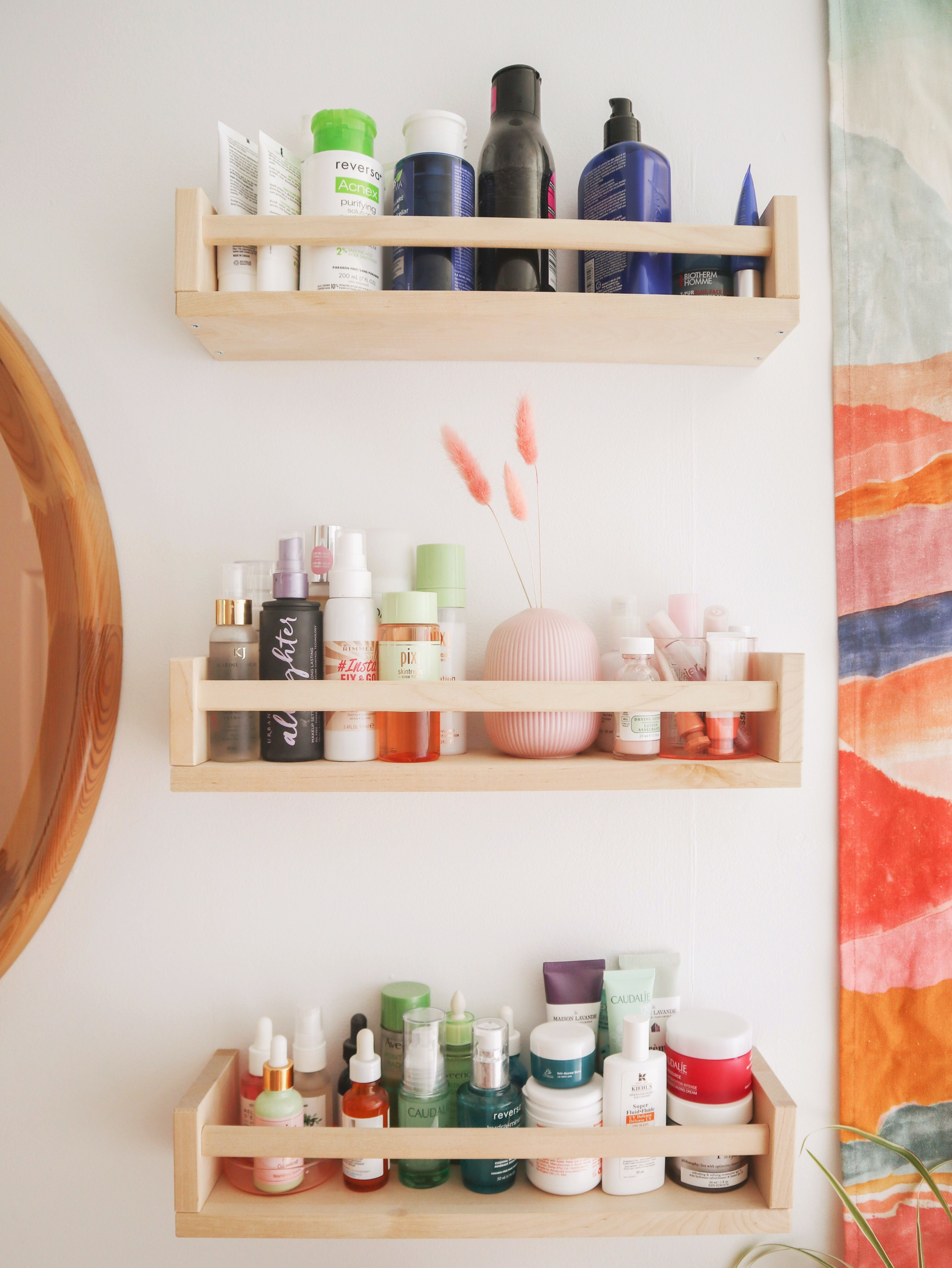 Photo of Boho bathroom storage