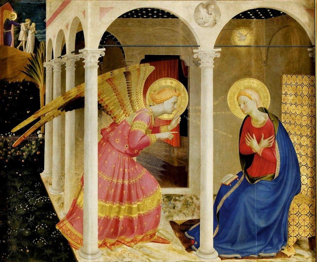 Beato Angelico, Annunciazione (Museo Diocesano, Cortona)