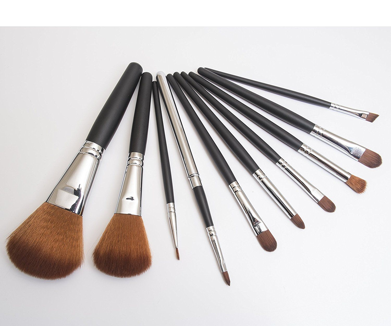 IQ Natural 10pc Professional Makeup Brush Set, Studio