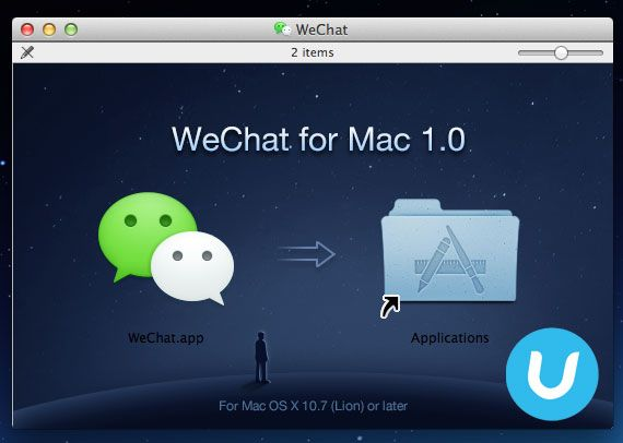 WeChat says hello to Mac users Mac os, Instant messaging