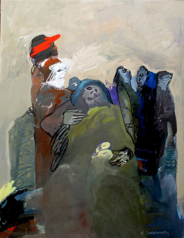 Fin de règne (180x140cm) Nicolas Gasiorowski