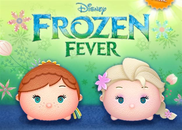 Tsum Tsum Fiesta De Cumpleaños Para Colorear Páginas Libro De: Tsum Tsum Game Update! Frozen Fever Tsums Added!