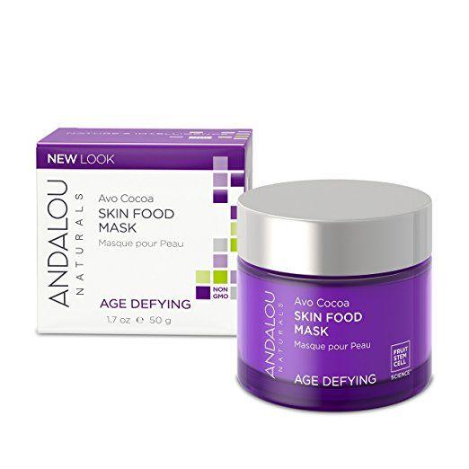 Amazon Com Andalou Naturals Avo Cocoa Skin Food Mask 1 7 Ounce Facial Masks Health Personal Care Andalou Naturals Sugar Facial Scrub Skin Food Mask