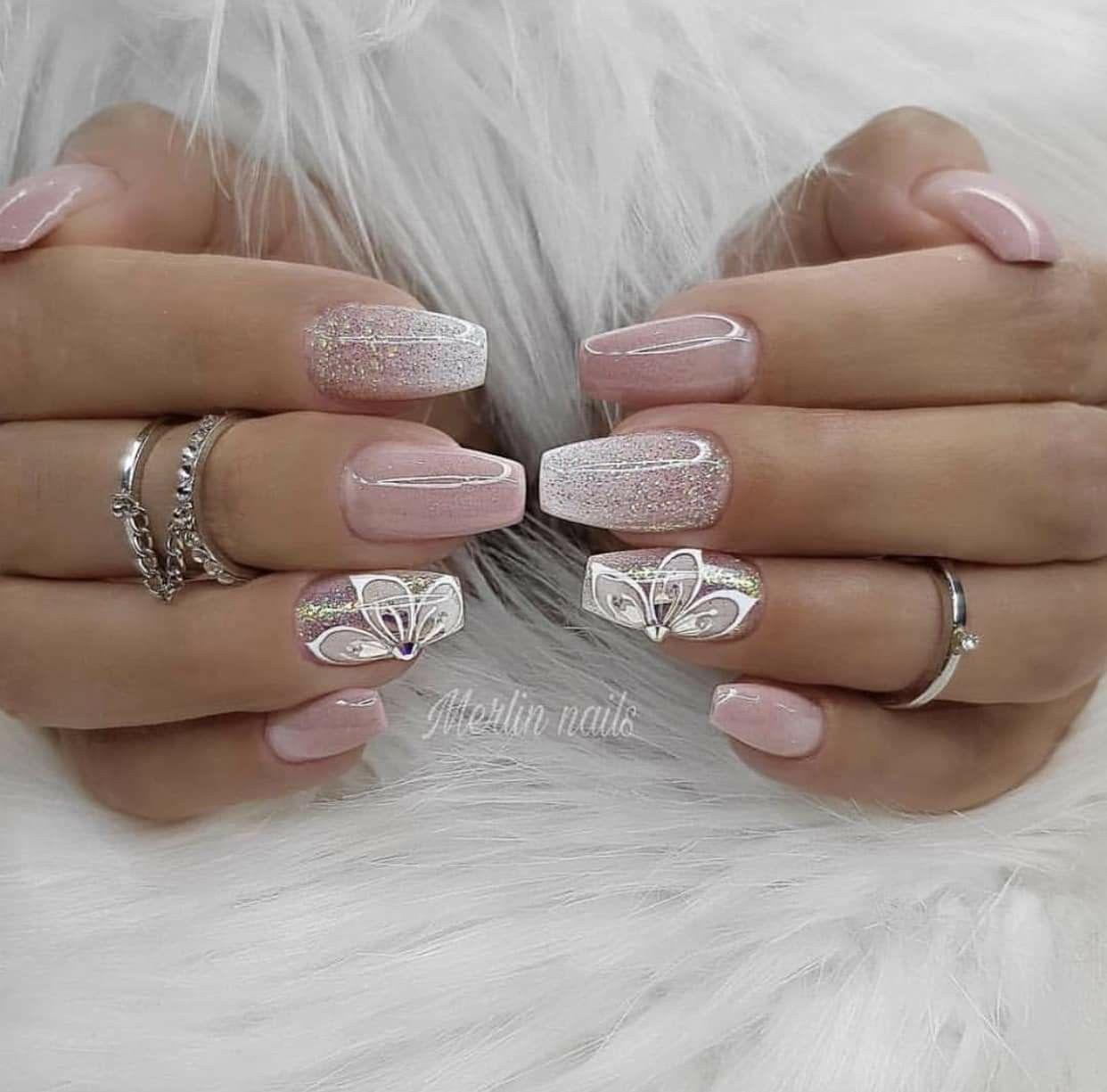 Pin By Rashelle Statczar On Nails Elegant Nails Nail Designs Pink Nails