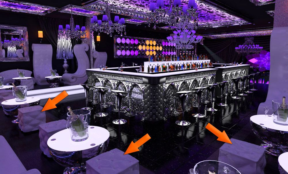 Bar Design Ideas For Business - Chatu Blog | Bar/club/lounge ...