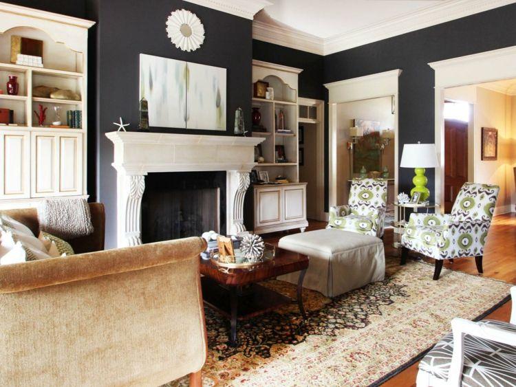 Wohnzimmer renovieren aber wie \u2013 Ideen für eine neue Raumwirkung - gardinen fürs wohnzimmer