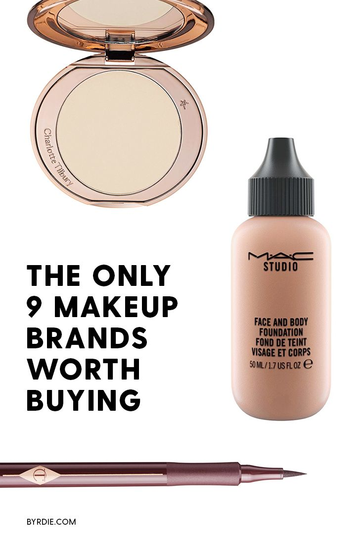The 7 Brands Makeup Artists Love Most And Why Best Makeup Brands Makeup Brands Best Makeup Products