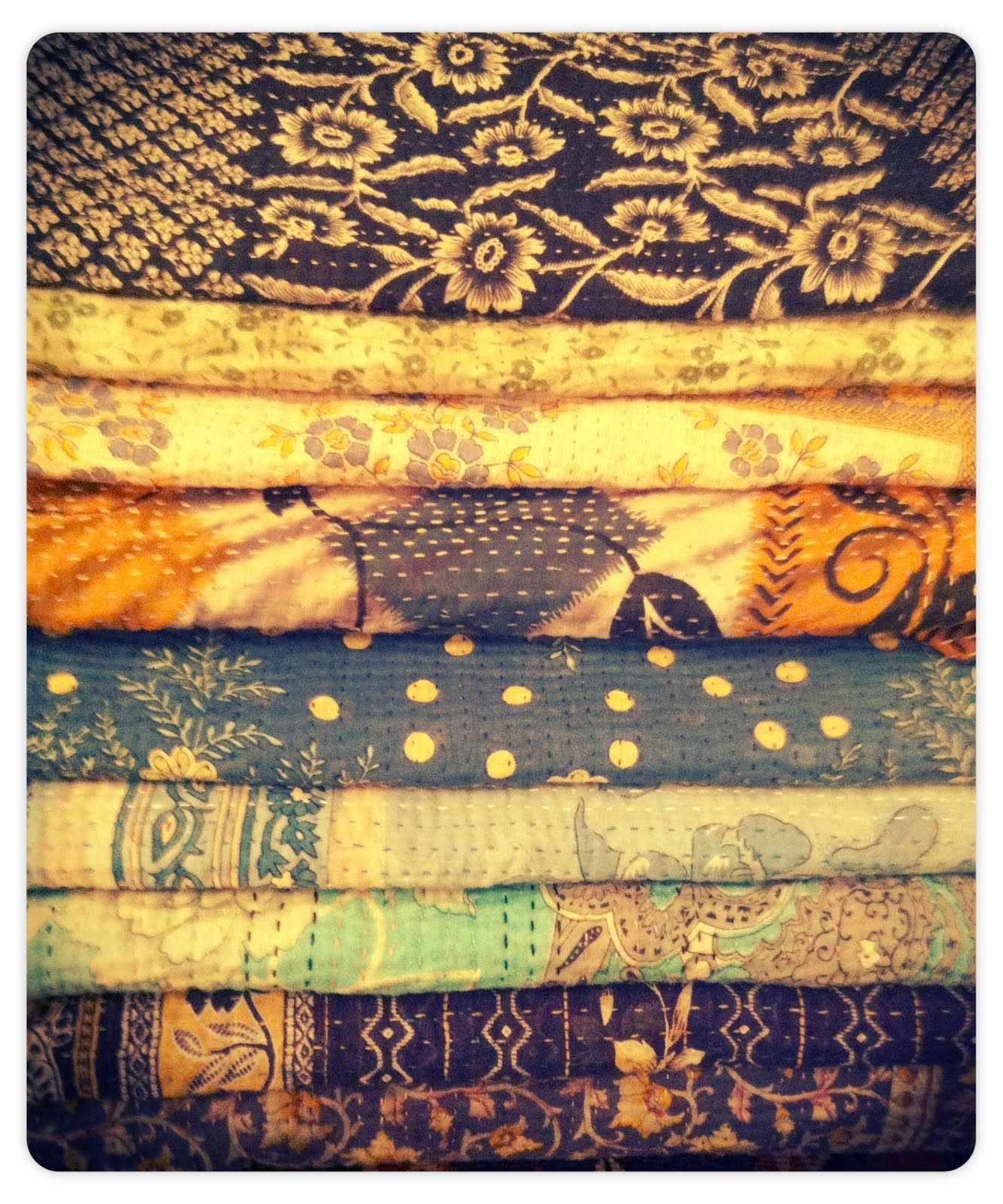 colorful old quilts :D