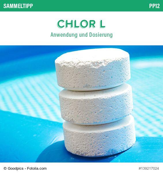 Poolsana Sammeltipp Nr 38 Chlor L Anwendung Und Dosierung