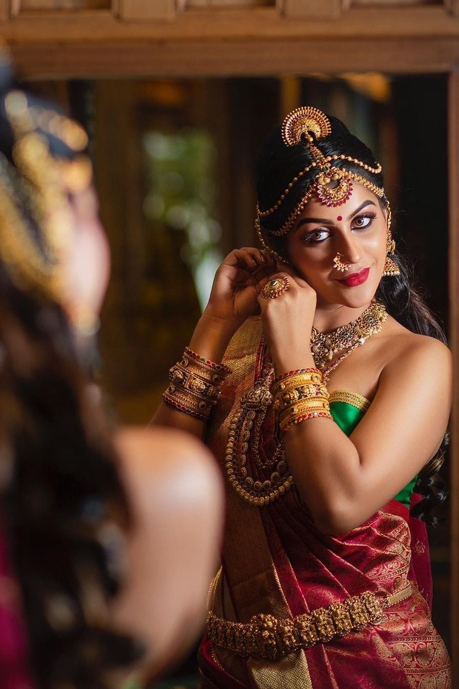 Pin by Jithu Peter on Saree in 2020 Best bridal makeup