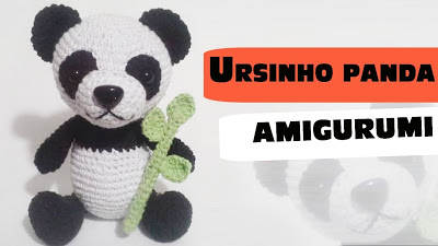 Receita Amigurumi Urso Panda  Voc  vai encontrar Amigurumi Urso receitas amiguru...