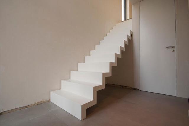 Trappen ruiz bekleden van betonnen trappen zelfdragende trappen