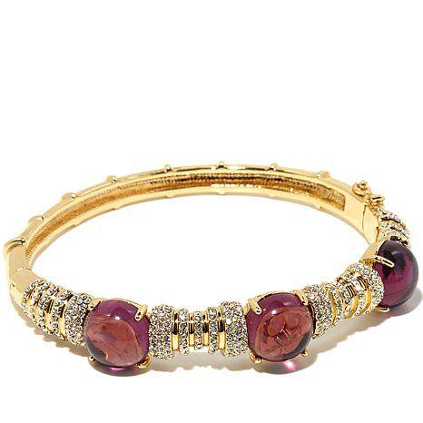"Roberto by RFM ""Grand Gala"" Colored Stone Bracelet"