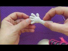 Amigurumi Yapılışı : 1.video amigurumi barbie bebek ayak yapımı başlangıc detaylı