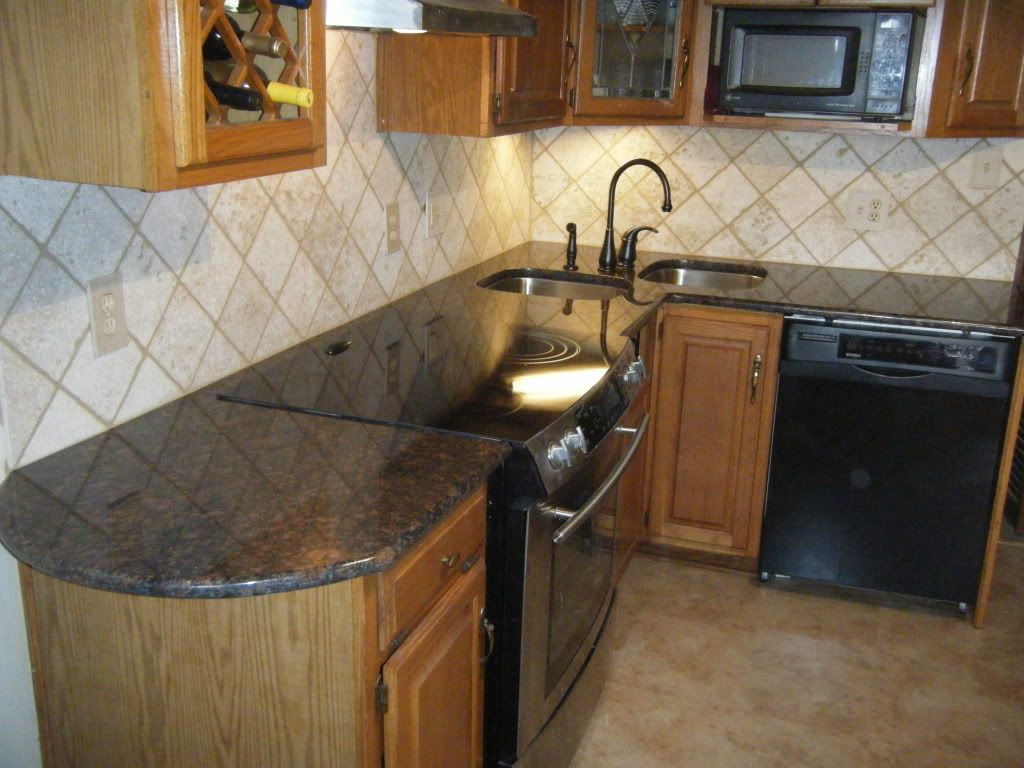 how to install a travertine tile backsplash ehow apps