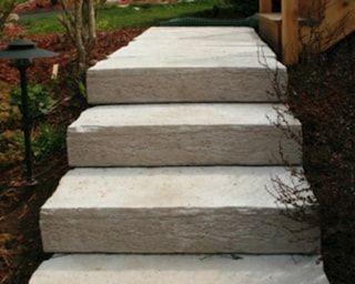 Best Rockstep 48 Weatheredge Step At Menards® Garden Yard Ideas Landscape Materials Step Stones 400 x 300