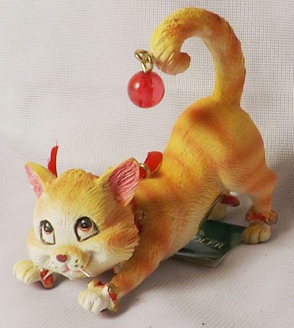 Christbaumschmuck Weihnachtsdeko Hangedeko Katze Ebay Christmas