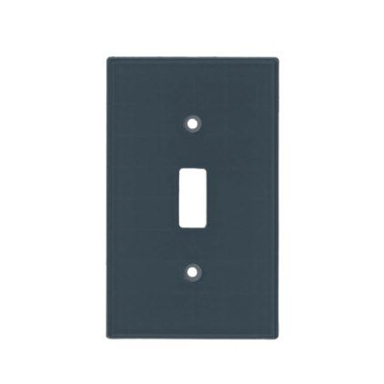 Charcoal Gray Light Switch Cover