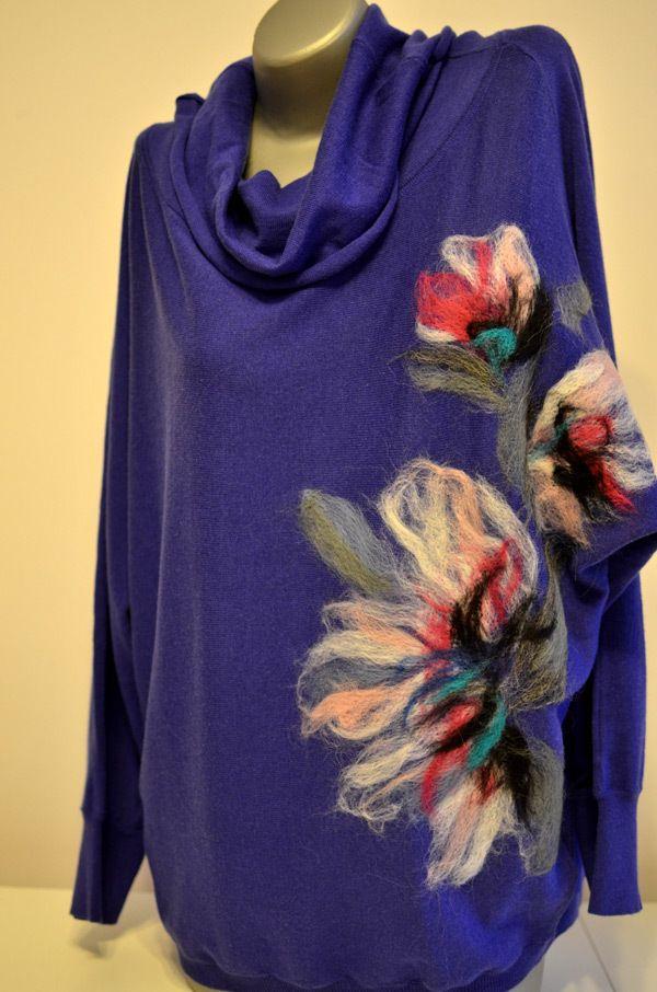 Filcowanie Na Swetrze Szukaj W Google Felt Crafts Creative Crafts