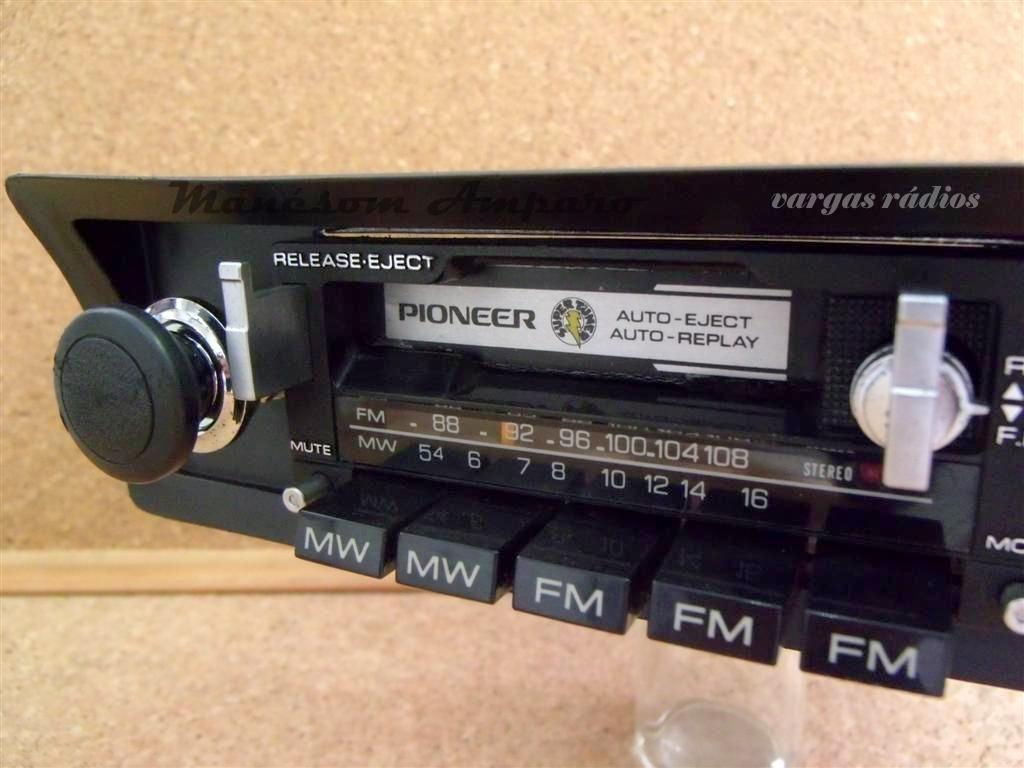 Pioneer Kp 8000 Old School Car Audio Byvargasradios Em 2020