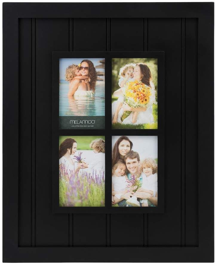 Melannco 4-Opening Windowpane Collage Frame | Beautiful Frames ...