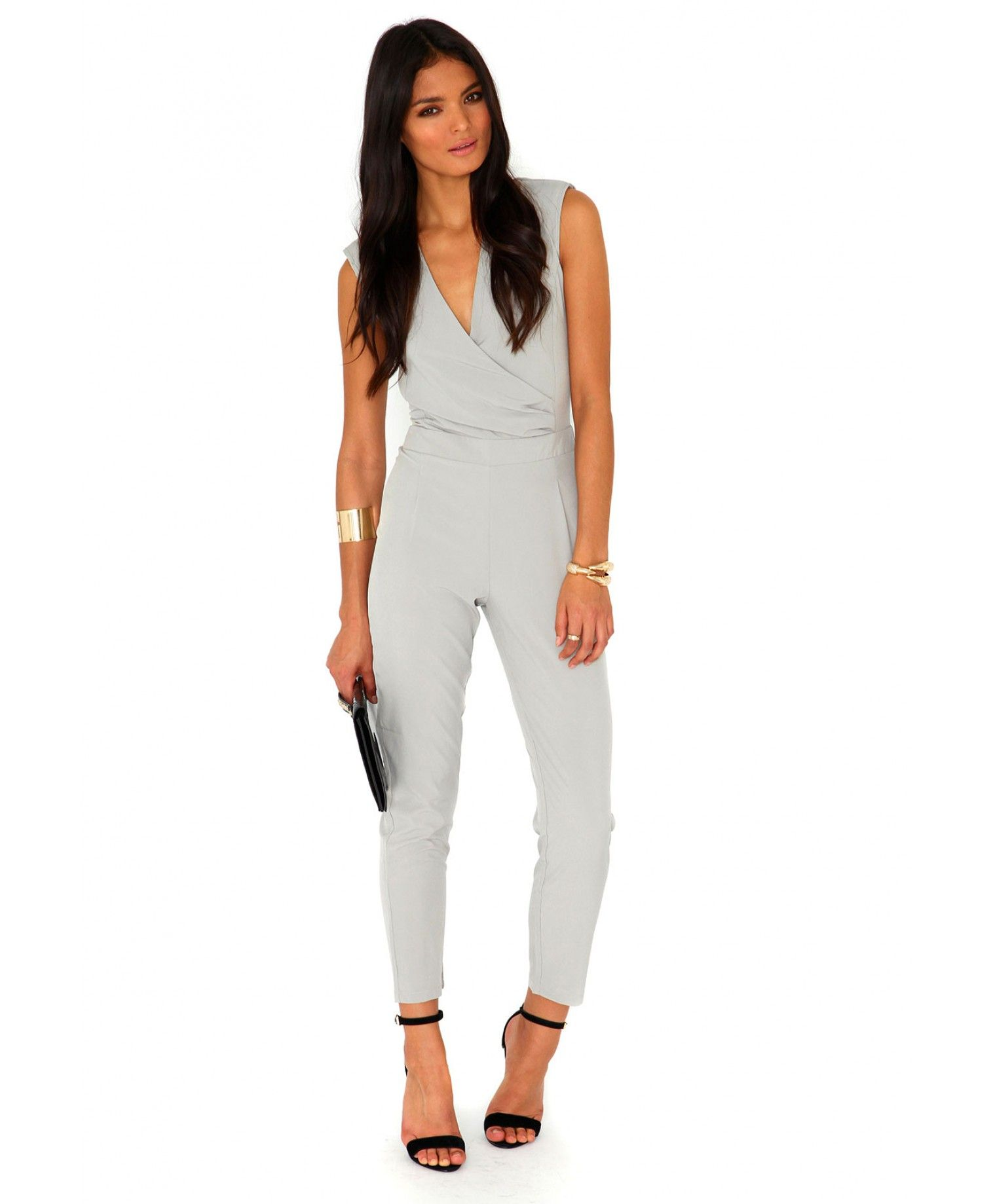 678d289c31d9 Jerma Crossover Tailored Jumpsuit - Jumpsuits and Playsuits - Jumpsuits -  Missguided