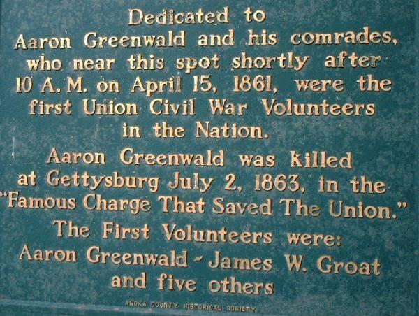 Aaron Greenwald, Anoka