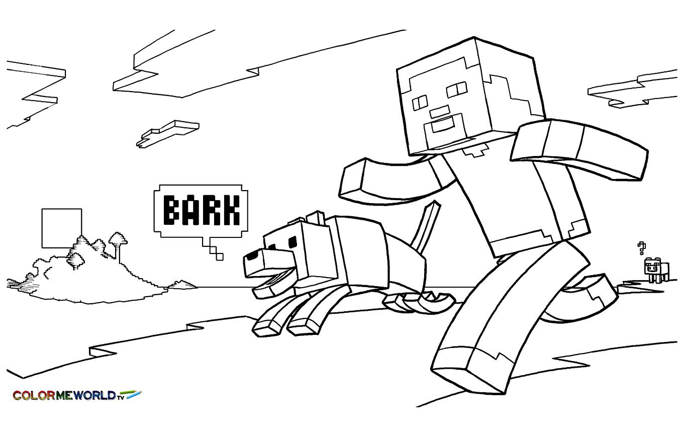 Ausmalbilder Minecraft Haus : Ber Hmt Ausmalbilder Minecraft Steve Zeitgen Ssisch Malvorlagen