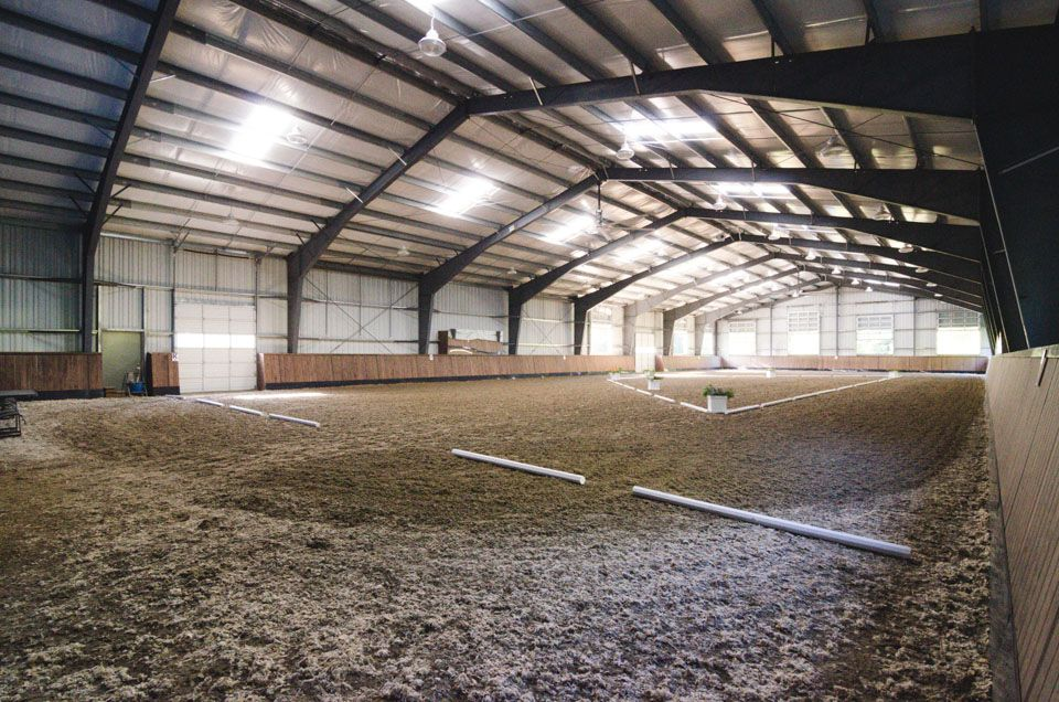 Windline Farm Horse barns, Horse arena, Riding arenas