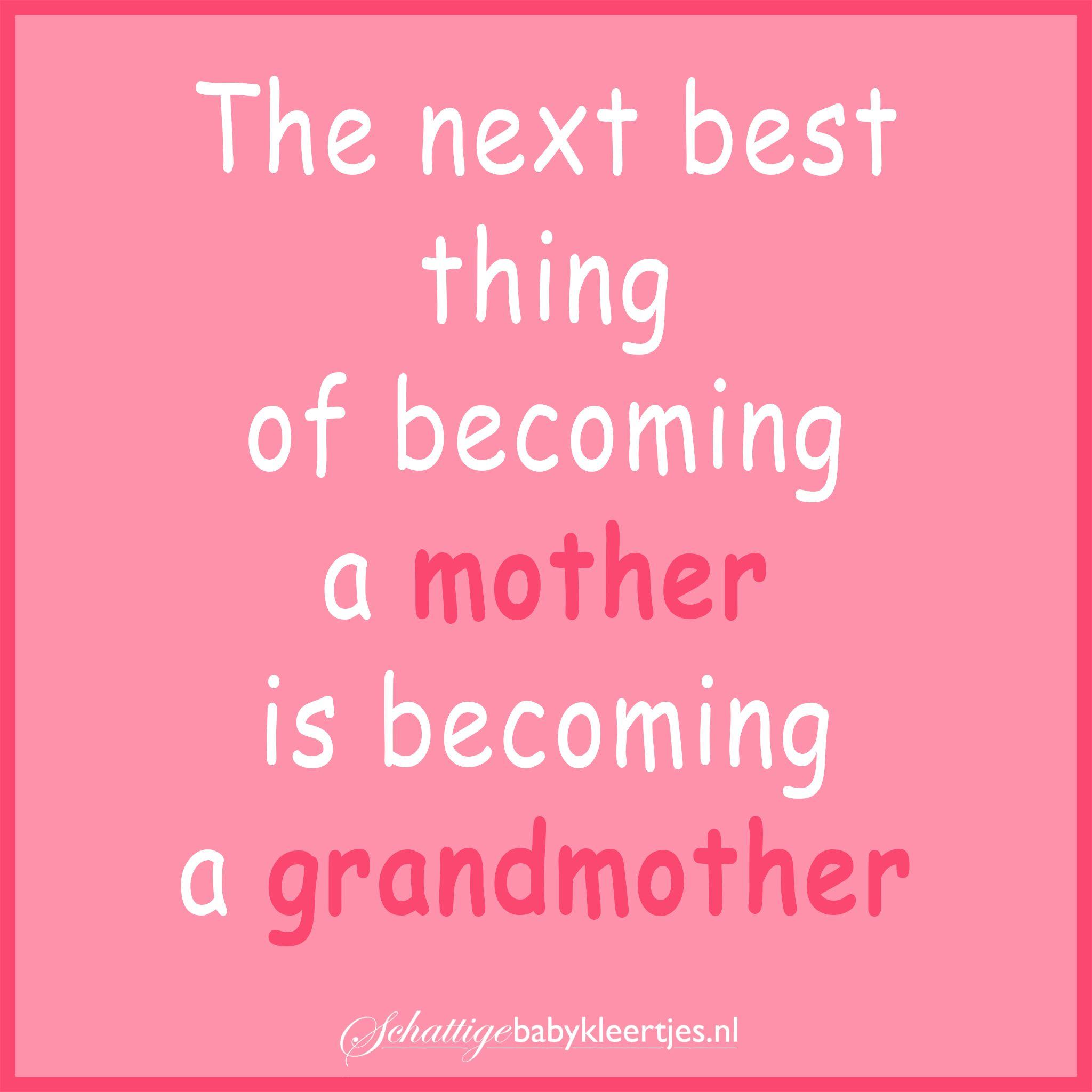 Fonkelnieuw Oma worden is geweldig! (met afbeeldingen)   Inspirerende citaten KQ-59