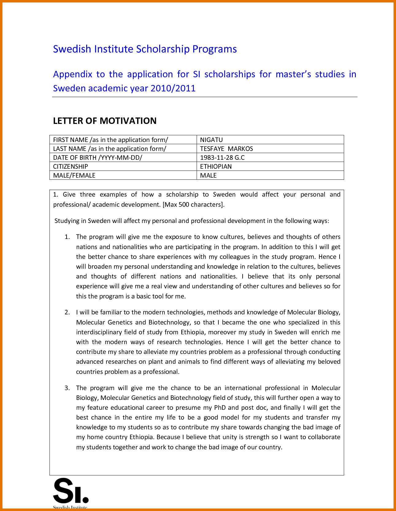 budget letter template