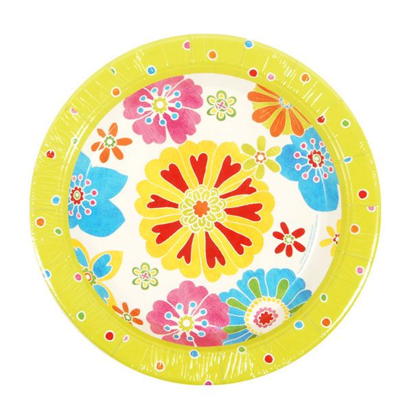 9 Flower Plate/Case of 288 Tags Dinner Plates; Paper Tableware; disposable  sc 1 st  Pinterest & 9 Flower Plate/Case of 288 Tags: Dinner Plates; Paper Tableware ...
