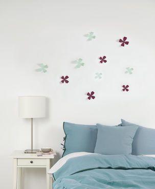 Umbra Wallflower Wanddekoration #Dekoration #Deko #Wand #Schlafzimmer #Blumen #Wohnen #Galaxus