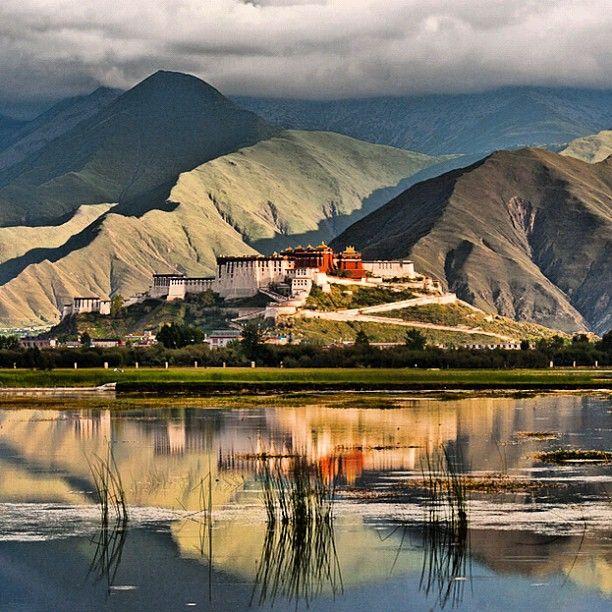 Potala Palace in Lhasa, Tibet. Photograph by Michael Yamashita