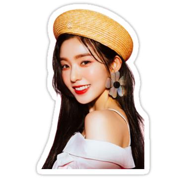 Red Velvet Irene Sticker By Joetato In 2021 Red Velvet Irene Red Velvet Velvet