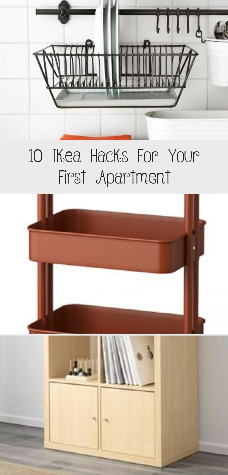10 Ikea Hacks For Your First Apartment in 2020 | First ...