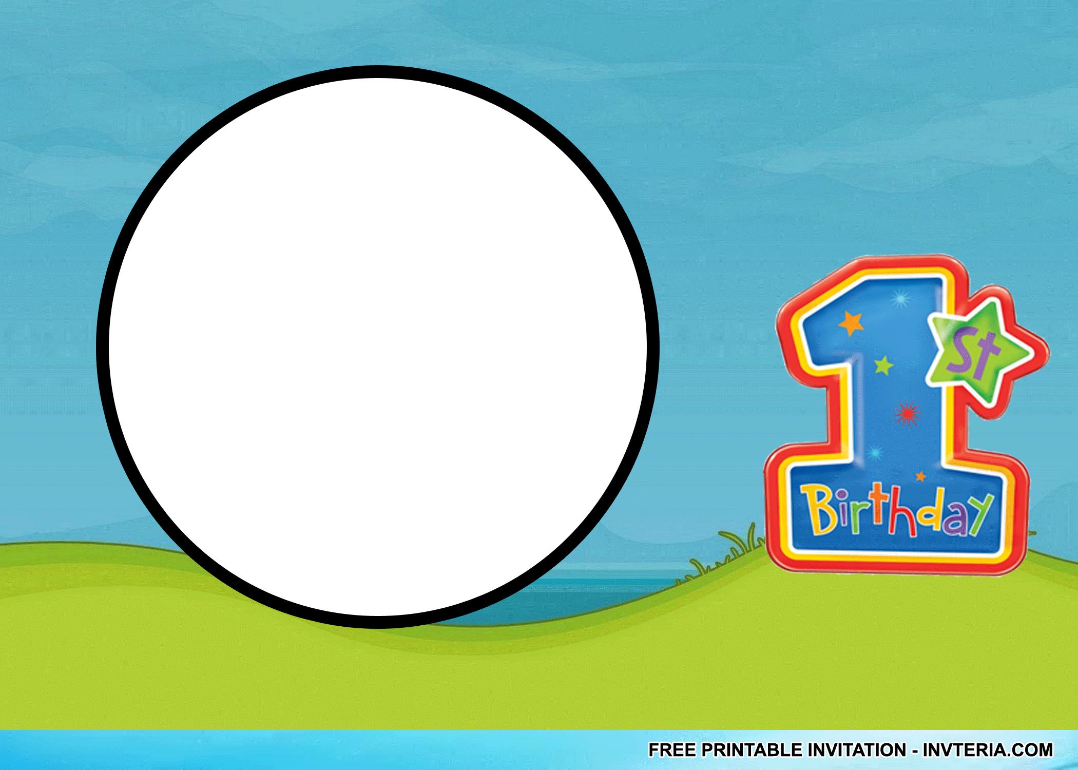 FINE FREE PRINTABLE 1ST BIRTHDAY INVITATIONS BOY IDEA