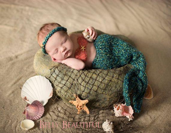 newborn mermaid