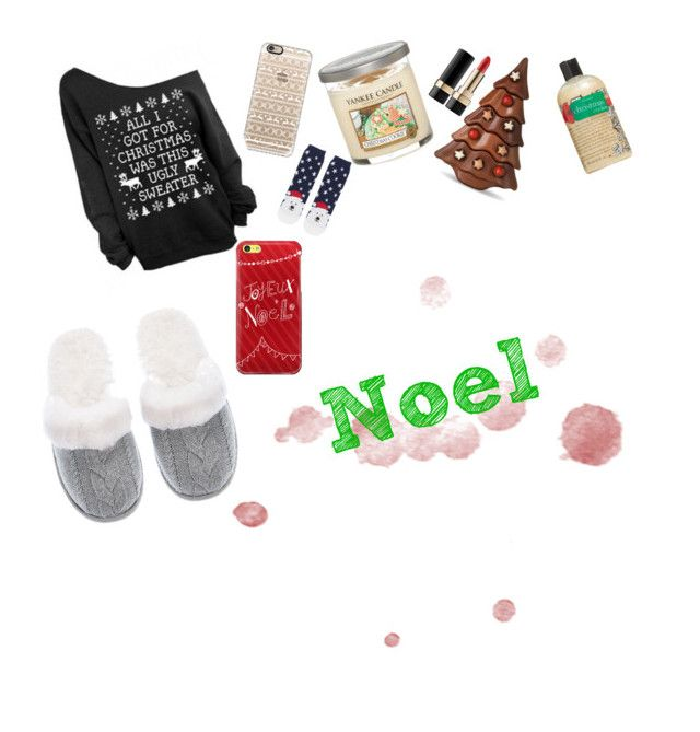 """Noel❤️"" by beamazingytb ❤ liked on Polyvore featuring Casetify, Yankee Candle, Topshop, philosophy, Victoria's Secret, Dolce&Gabbana and Noel"