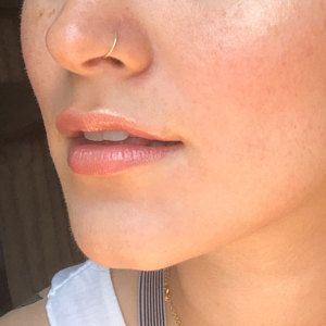 Nose ring, nose hoop, silver nose ring, 24g Small Hoop Earring, tragus/helix/ cartilage piercing 24 Gauge handcrafted nose ring