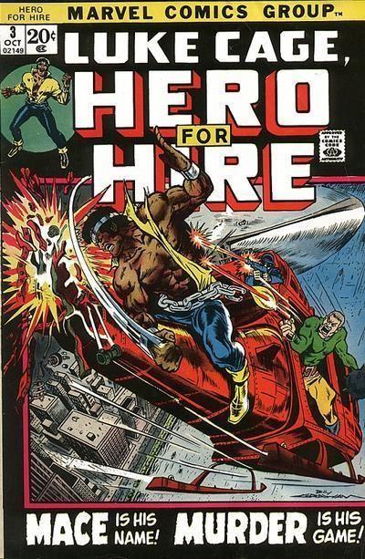 LUKE CAGE, HERO FOR HIRE 3, BRONZE AGE MARVEL COMICS