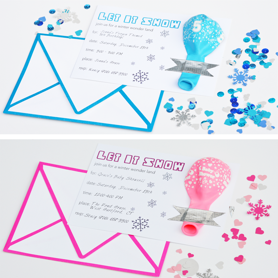 free frozen invitation | Party Themes | Pinterest