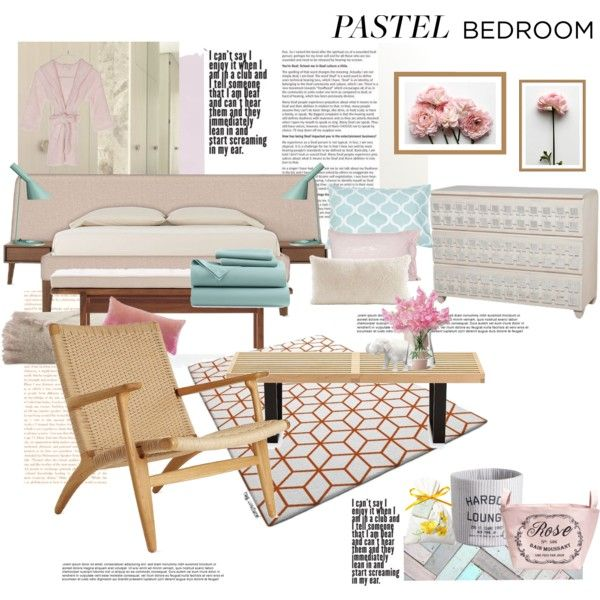 """""""A Sweet Pastel Bedroom"""" by janephoto on Polyvore"""