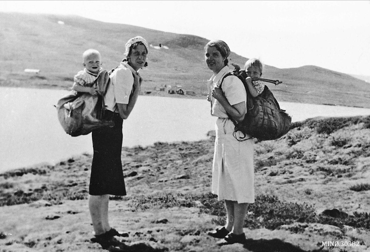 Women With Babies In Backpacks Norway Year Unknown A Reason To