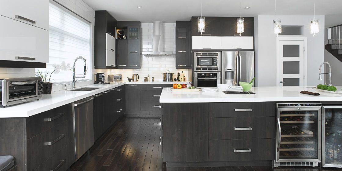 armoires de cuisine 2 couleurs recherche google