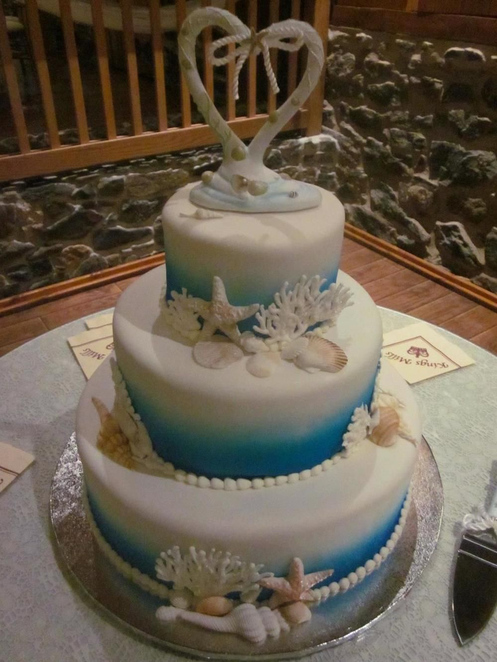 Sea shell wedding cake google search cakes pinterest wedding cake biocorpaavc Image collections