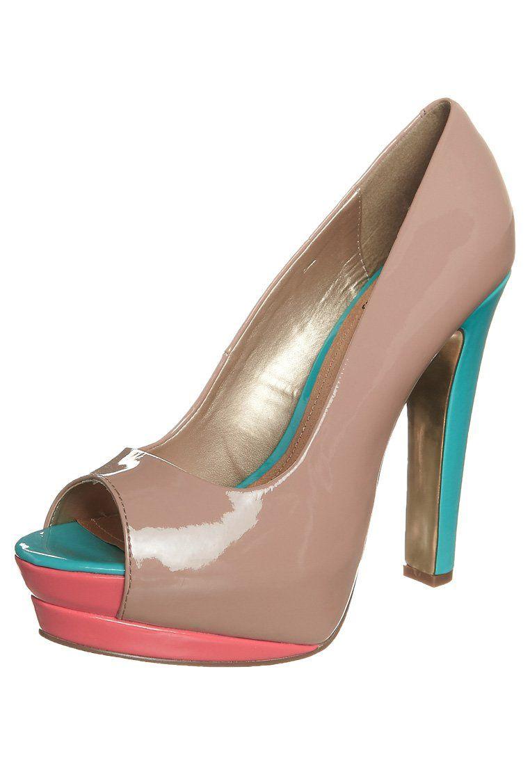 Even - Talons hauts à bout ouvert - beige - 45€   Chaussures à talon ... c1c8ca70036