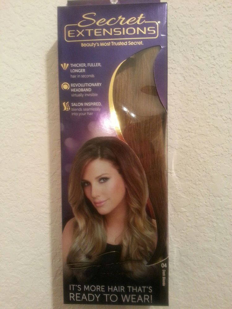 Secret Extensions Hair Extensions By Daisy Fuentes Medium Brown