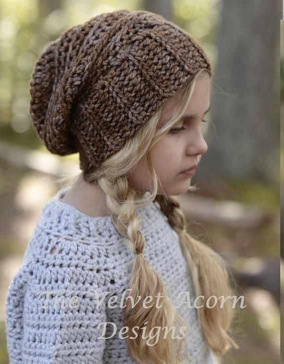CROCHET PATTERN Tyllie Slouchy 12/18m Toddler Child and | Baby Riley ...
